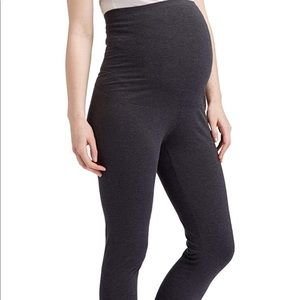 0135 Maternity Over The Belly Super Soft  Legging